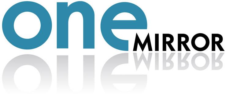 OneMirror-Logo1-hvit